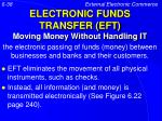electronic funds transfer eft moving money without handling it