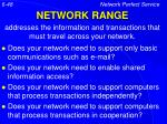 network range