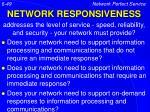 network responsiveness