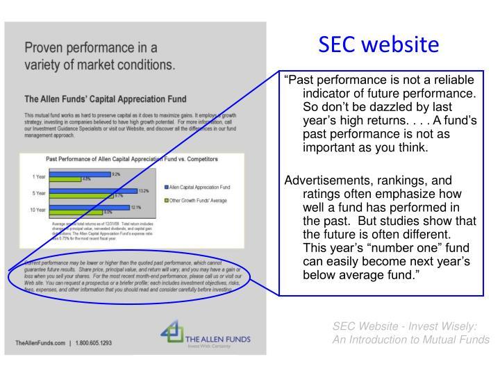SEC website
