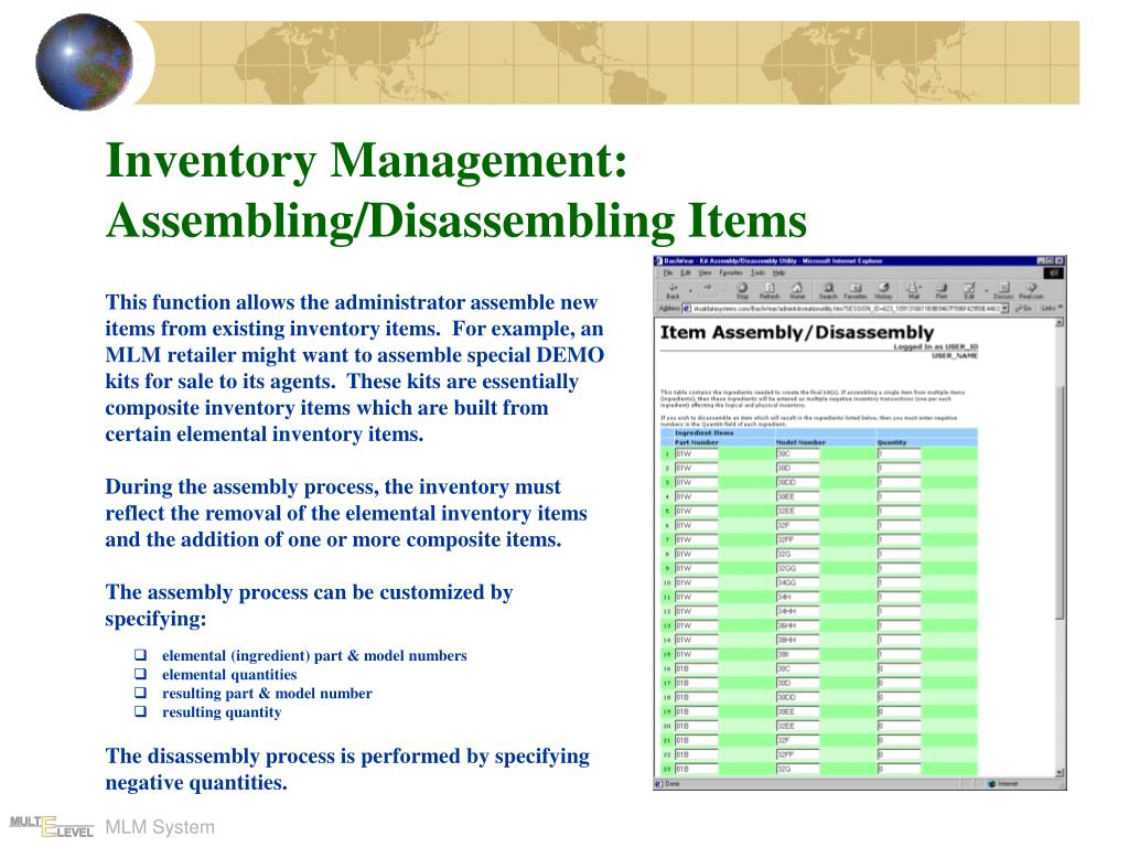 Inventory Management: