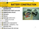battery construction