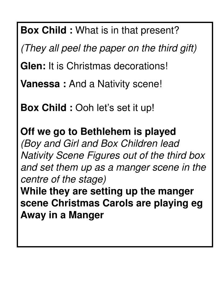 Box Child :
