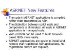 asp net new features
