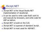 jscript net
