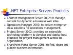 net enterprise servers products44