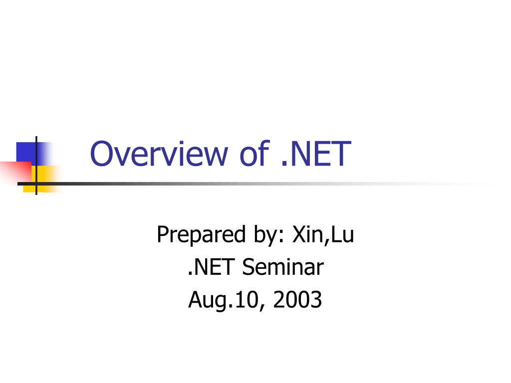 overview of net