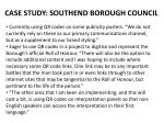 case study southend borough council
