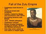 fall of the zulu empire