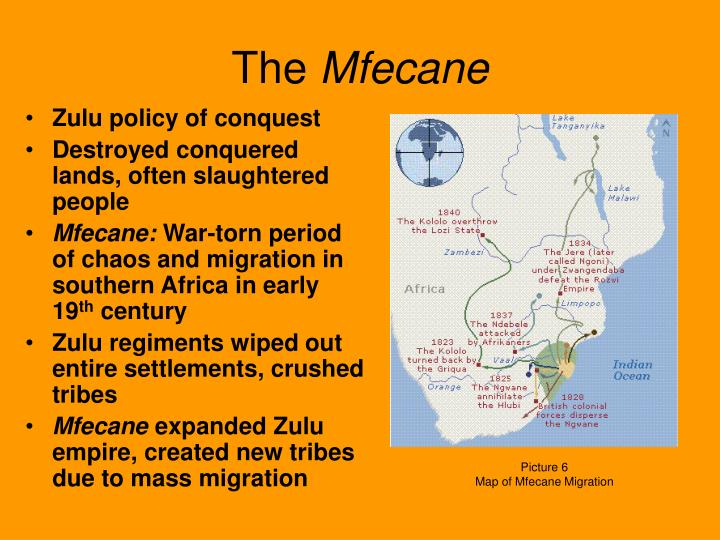 mfecane definition