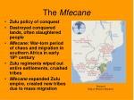 the mfecane