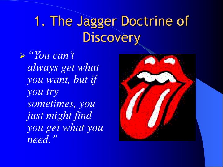 1 the jagger doctrine of discovery