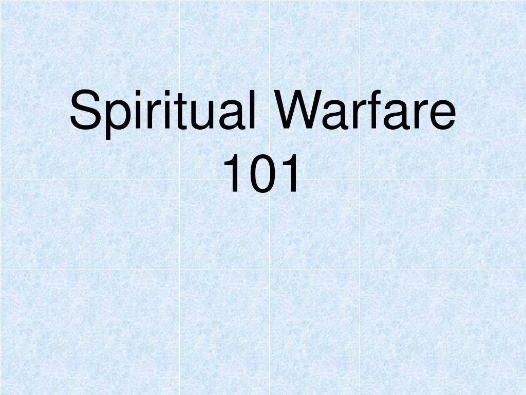 spiritual warfare 101 n.