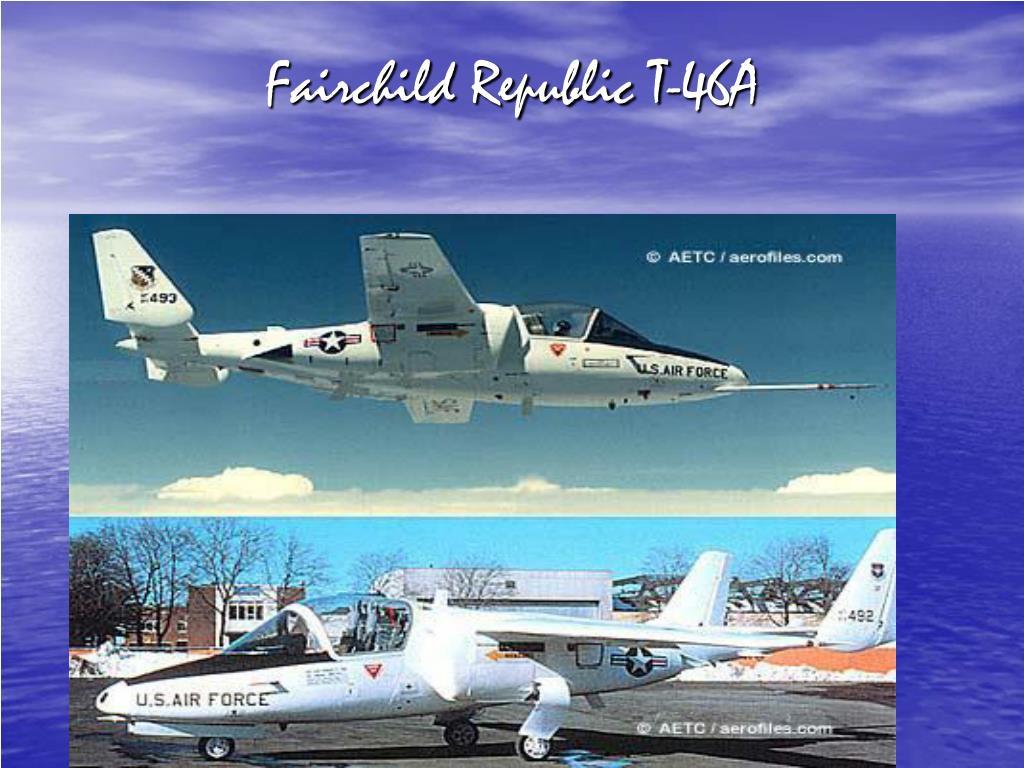 Fairchild Republic T-46A