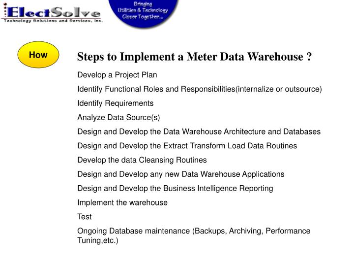 PPT - SWEMA Meter Data Warehouse Benefits & Approaches ...
