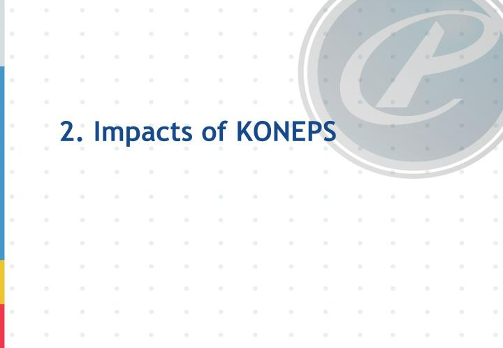 2. Impacts of KONEPS