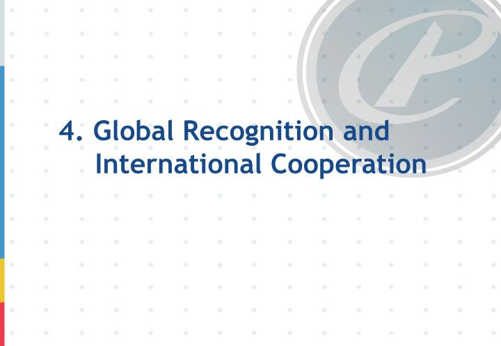 4. Global Recognition and International Cooperation