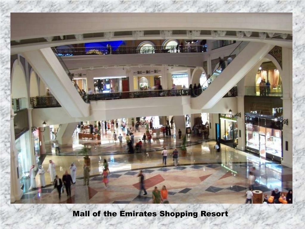 Mall of the Emirates Shopping Resort