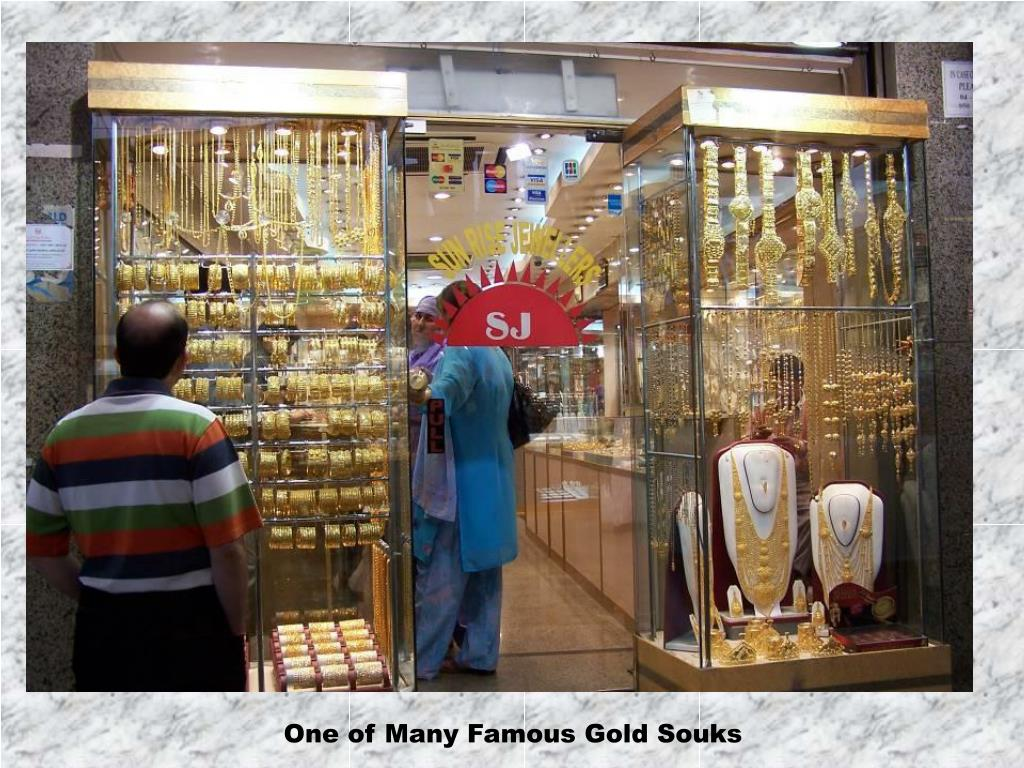 One of Many Famous Gold Souks
