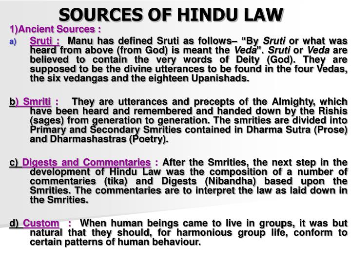 according to hindu law marriage is defined as