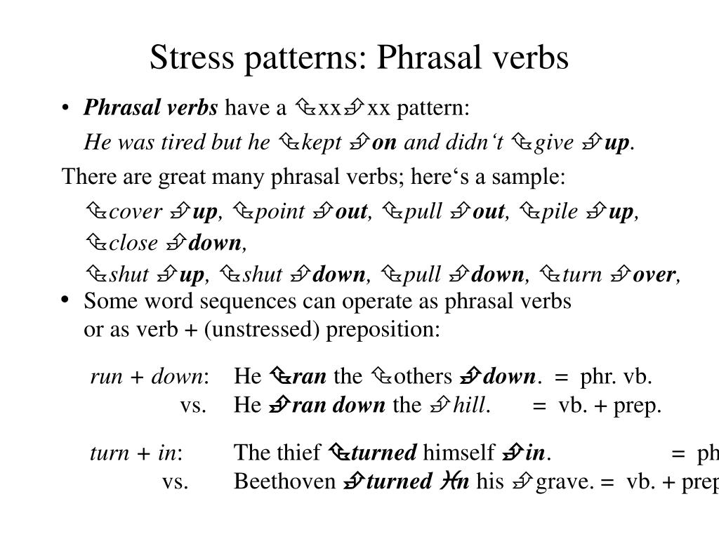PPT - The Phonetics of English Pronunciation 11 Word-Stress