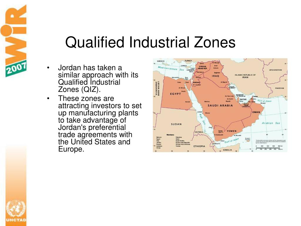 Qualified Industrial Zones