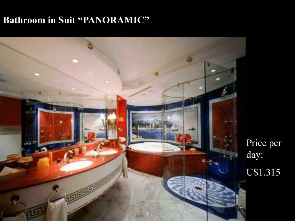 "Bathroom in Suit ""PANORAMIC"""