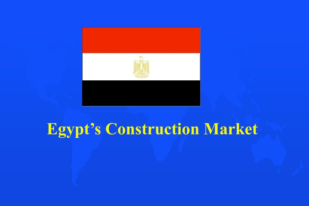 Egypt's Construction Market