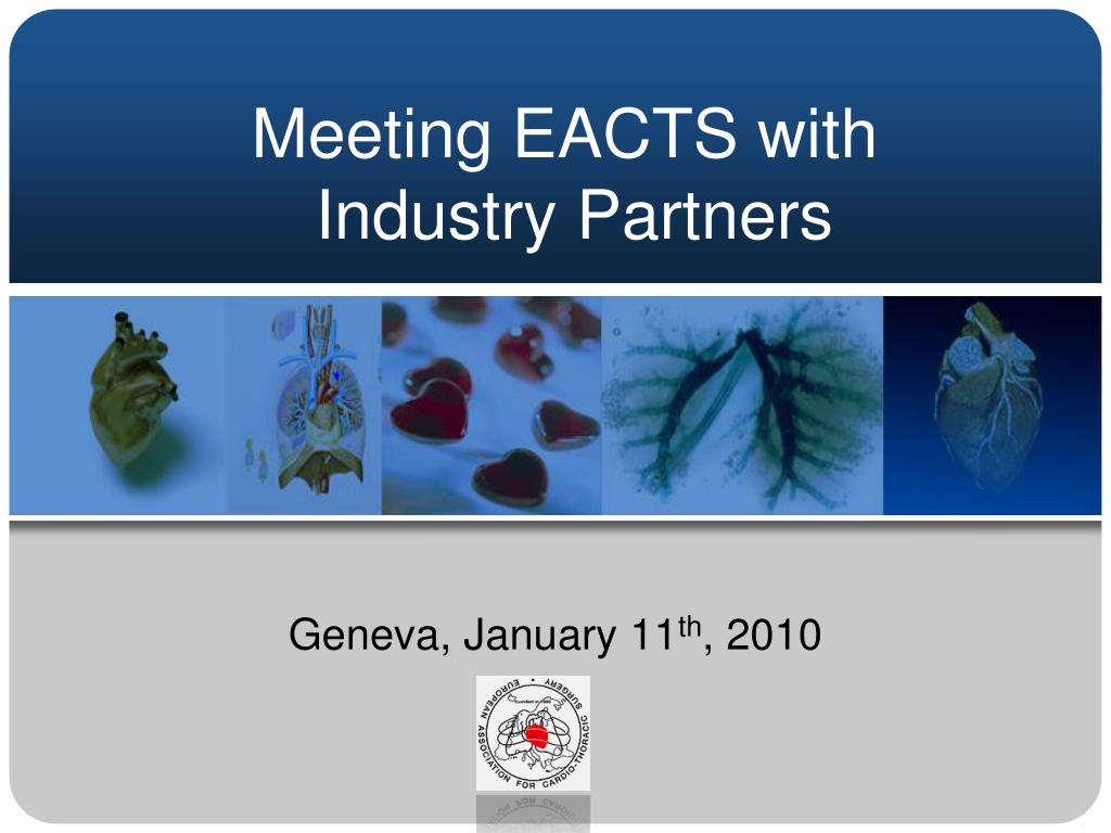 meeting eacts with industry partners l.