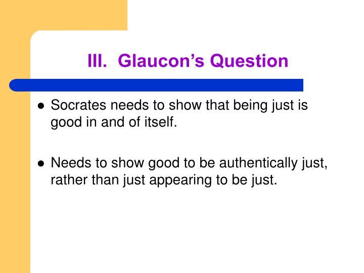 glaucons speech