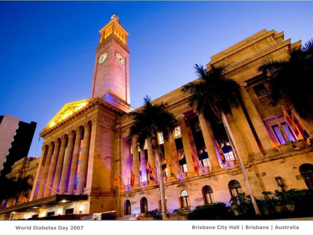 Brisbane City Hall   Brisbane  