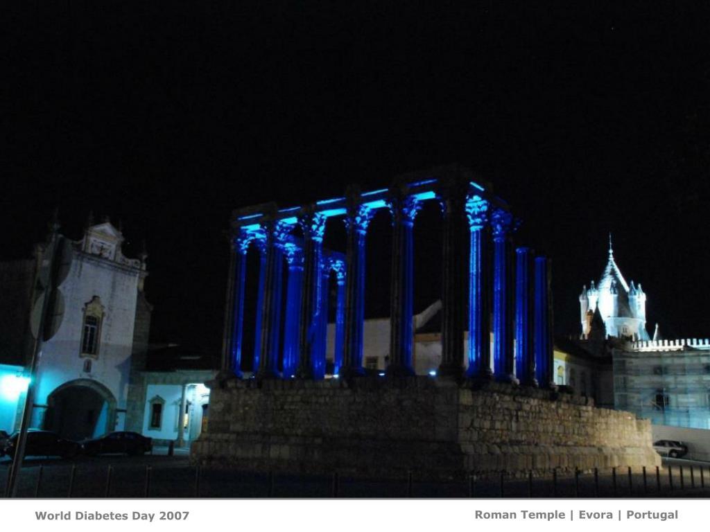 Roman Temple   Evora   Portugal