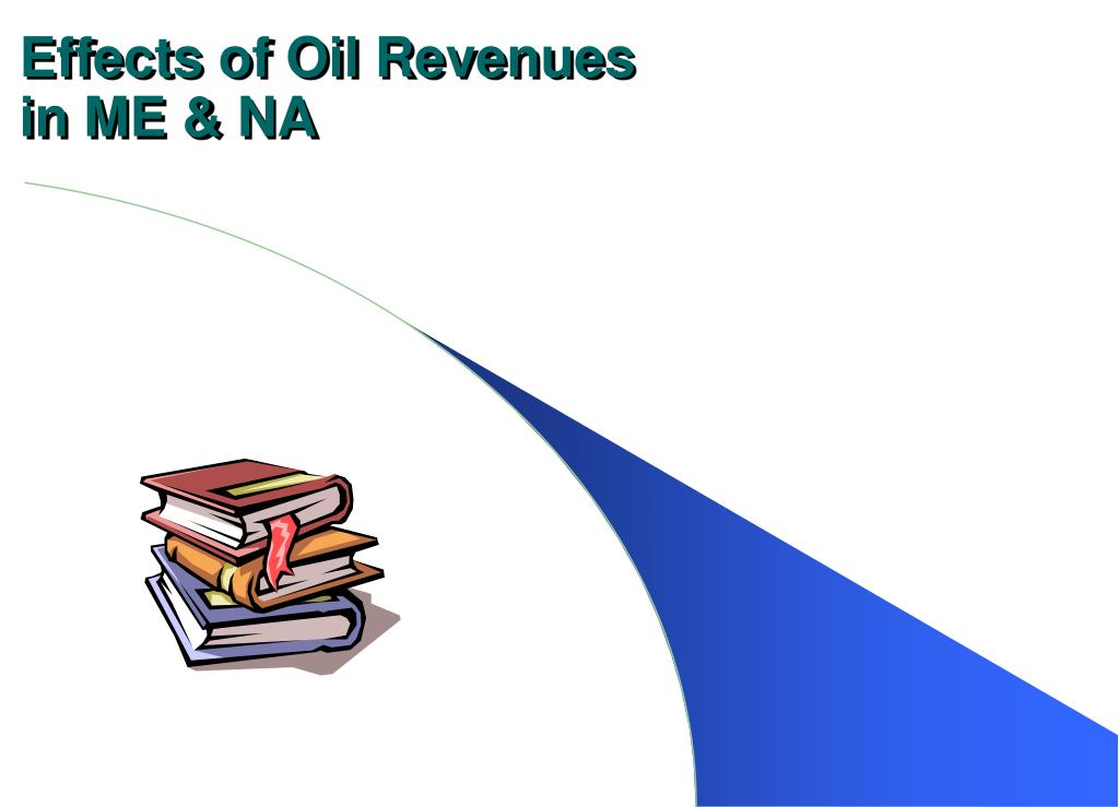 effects of oil revenues in me na l.