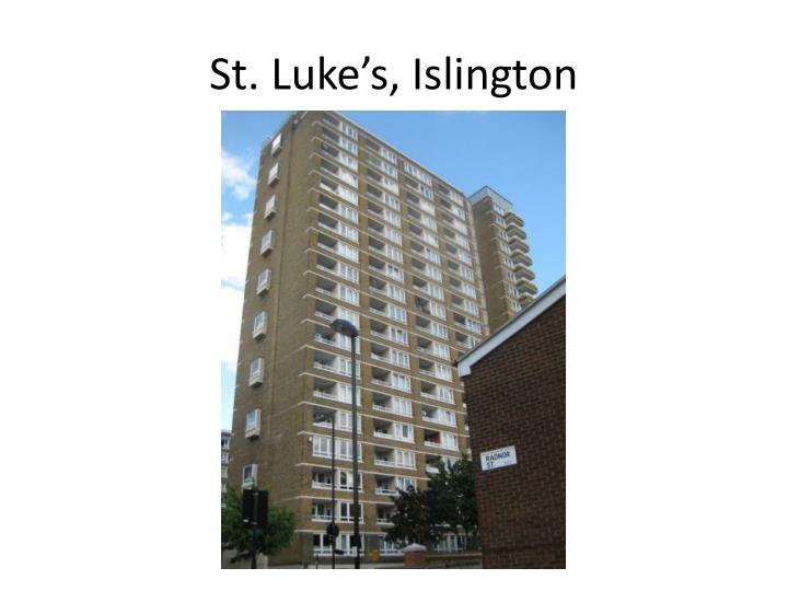 St. Luke's, Islington