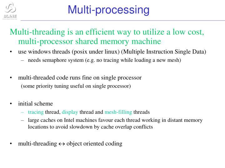 Multi-processing