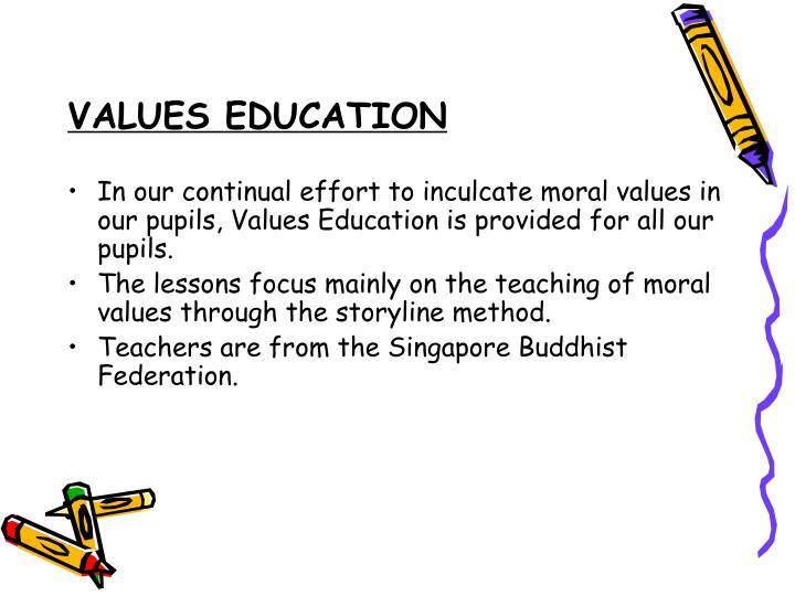 VALUES EDUCATION