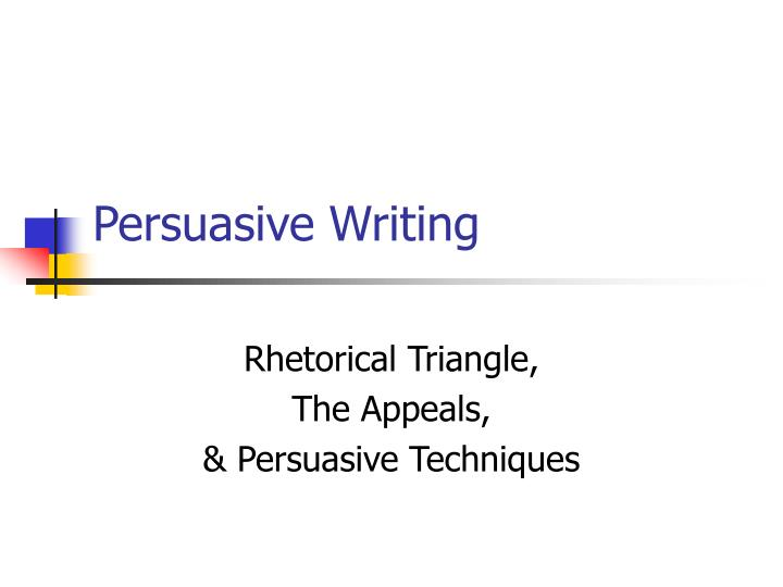 persuasive writing appeals Persuasive appeals ethos logos pathos middle school 129,566 views subscribe 2 video not playing, click writing balanced chem equations ex 2.