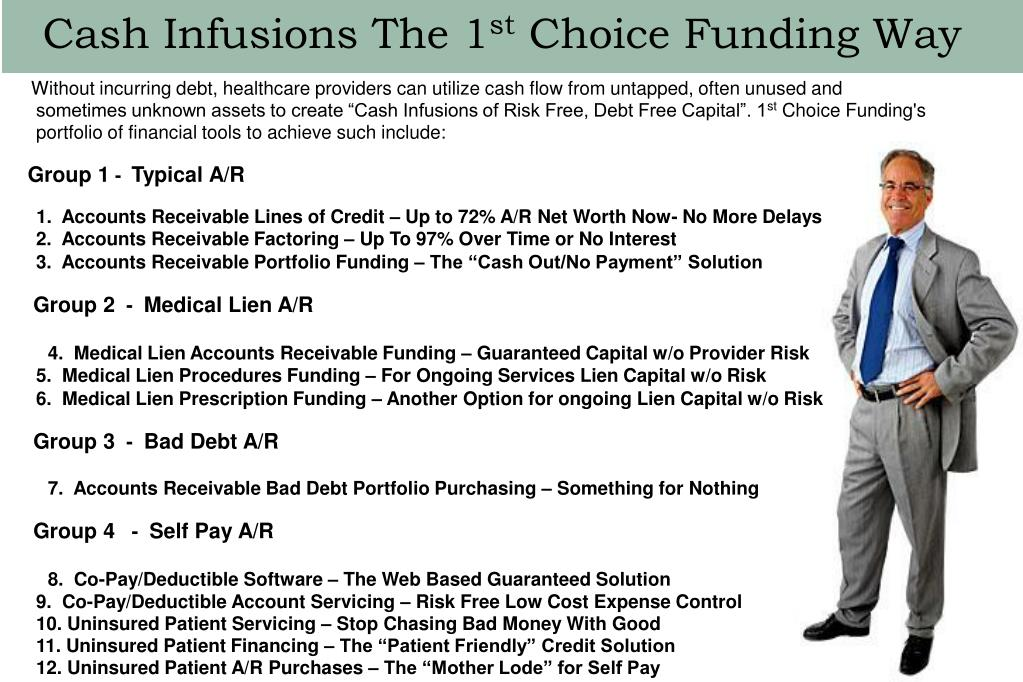 Cash Infusions The 1