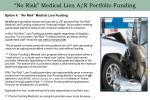 no risk medical lien a r portfolio funding