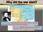 why did the war start