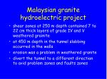 malaysian granite hydroelectric project5