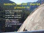 mammoth pool dam sheeted granodiorite2