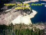 mammoth pool dam sheeted granodiorite3