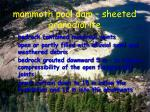 mammoth pool dam sheeted granodiorite4