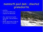mammoth pool dam sheeted granodiorite6