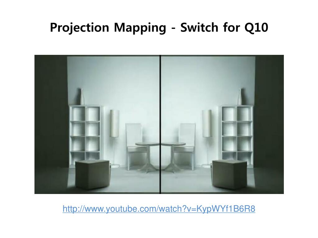projection mapping switch for q10 l.