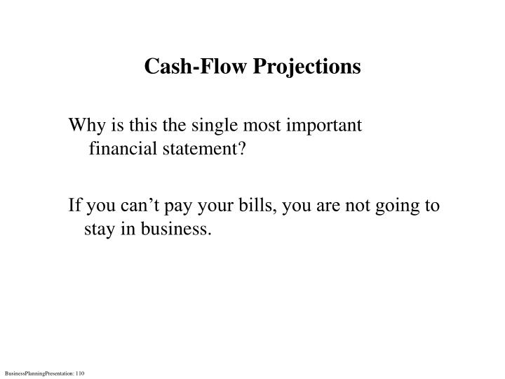 Cash-Flow Projections
