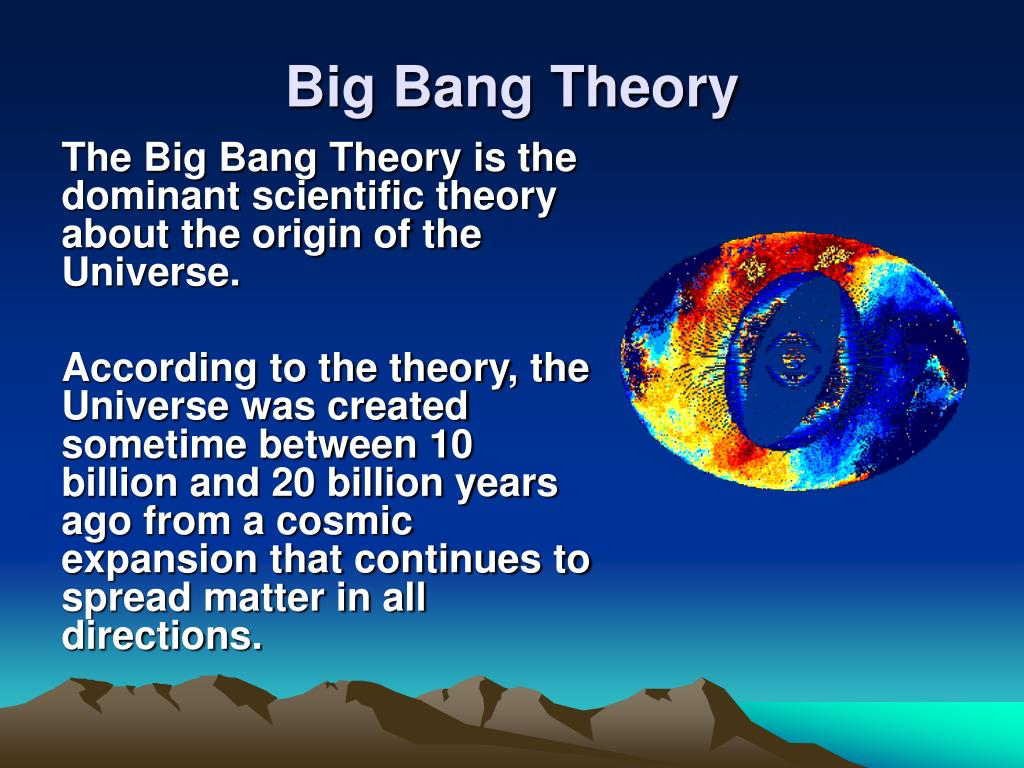 Ppt Big Bang Theory Powerpoint Presentation Free Download Id 986892