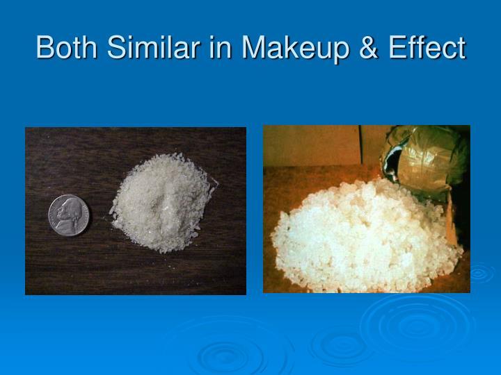 Both Similar in Makeup & Effect