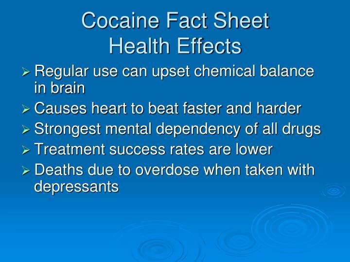 Cocaine Fact Sheet